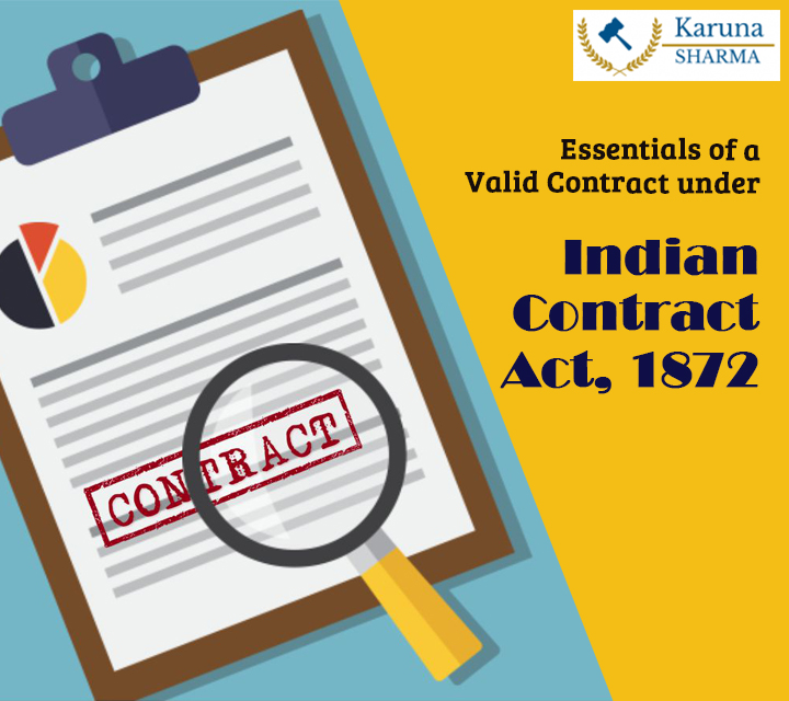 Indian Contract Act 1872.